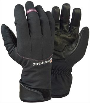 Montane Alpine Guide Softshell Women's Insulated Glove, L Black