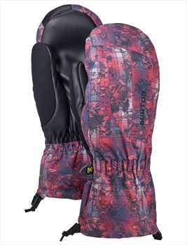 Burton Profile Women's Ski/Snowboard Mitts, L Nevermind Floral