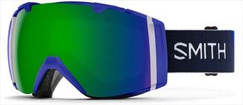 Smith I/O CP Sun Green Snowboard/Ski Goggles, M/L Klein Blue