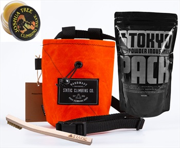 The Connoisseur Climbing Gift Set: Hunter Orange