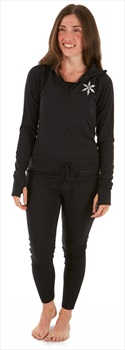 Airblaster Womens Classic Ninja Thermal Base Layer, L, Black