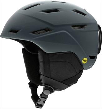 Smith Mission MIPS Snowboard/Ski Helmet, L Matte Charcoal