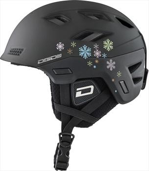 Dirty Dog Zodiak Snowboard/Ski Helmet, M Matte Black
