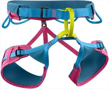 Edelrid Womens Jayne III Womens Rock Climbing Harness, L Granita