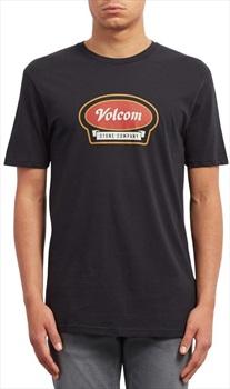 Volcom Cresticle Basic T-Shirt, M Black