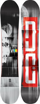 DC Ply Hybrid Camber Snowboard, 154cm Wide 2020
