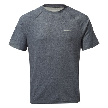 Craghoppers NosiLife Anello II Short Sleeve T-shirt, S Soft Navy
