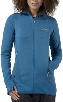 Berghaus Extrem 7000 Hoody Women's Hooded Fleece Jacket, UK 8 Blue