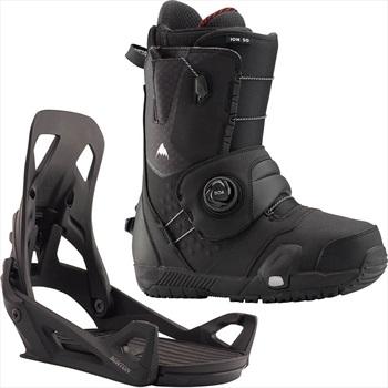 Burton Ion Step On Snowboard Binding & Boots, UK 7 Black 2020