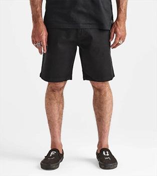 "Roark Adult Unisex Porter 19"" Chino Shorts, 33"" Black"