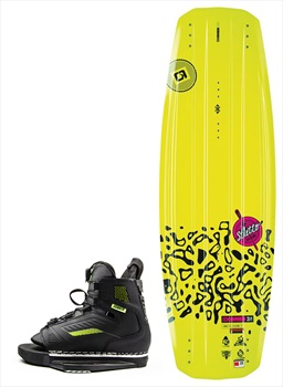 O'Brien Stiletto   Unit Ladies Wakeboard Package, 140   2.5-5.5 Yellow