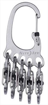 Nite Ize BigFoot Locker Keyrack Carabiner Style Locking Keyfob