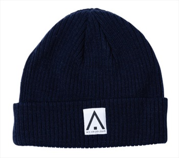 Wearcolour Y Ski/Snowboard Beanie Hat, One Size Blue Iris
