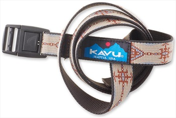 "Kavu Burly Adjustable Nylon Web Clip Belt, 44"" Trading Post"