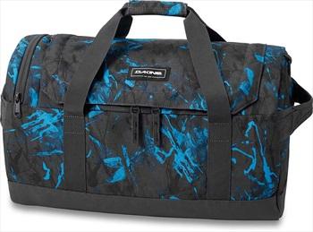 Dakine EQ Duffle Travel Luggage Bag, 35L Cyan Scribble