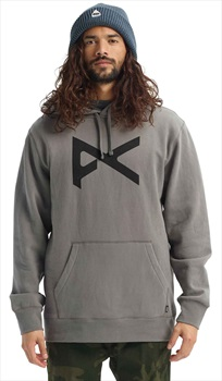 Anon Graphic Pullover Hoodie, L Charcoal Grey