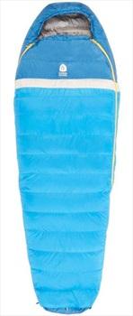 Sierra Designs Zissou 35F/2C Ultralight Down Sleeping Bag, Long Blue