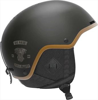 Salomon Brigade+ Snowboard/Ski Helmet, XL Cafe Racer