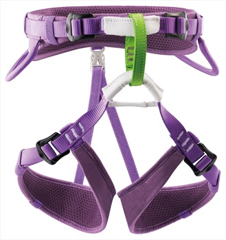 Petzl Child Unisex Macchu Kid's Rock Climbing Harness, 54-64cm Purple