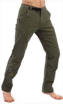 3rd Rock Ramblas Long Trousers Men's Organic Climbing Chino, M Khaki