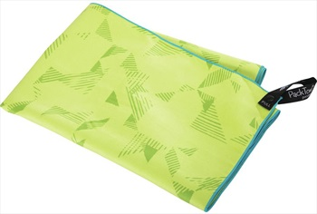 PackTowl Personal Towel Fast Drying Travel Towel, Body Abstract Lime