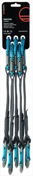Wild Country Proton 5 Pack Sport Climbing Quickdraw, 17cm Blue