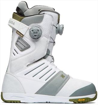 DC Judge Boa Snowboard Boots, UK 10.5 White 2020
