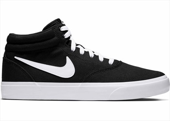 Nike SB Charge Mid Trainers Skate Shoes UK 11 Black/White
