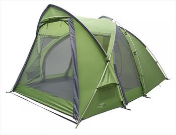 Vango Cosmos 400 Tent Group Basecamp Tent, 4 Man Pamir Green