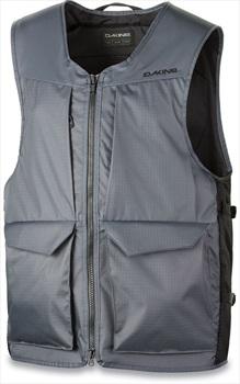 Dakine Heli Full-Zip Vest Ski/Snowboard Utility Backpack, S/M Shadow