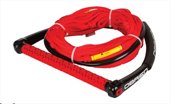 O'Brien Poly-E Wakeboard Combo, 4 Section Red