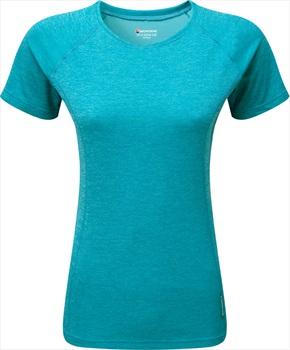 Montane Dart Short Sleeve Women's Quick Dry T-Shirt, XS Blue Ridge