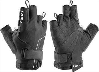 Leki Nordic Breeze Shark Short Nordic & Trekking Pole Gloves, Large