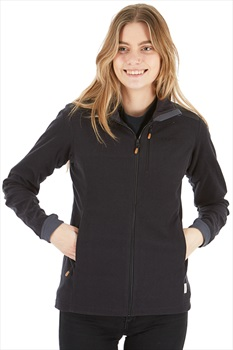 Norrona Svalbard Warm1 Jacket Women's Polartec Fleece, M Caviar Black