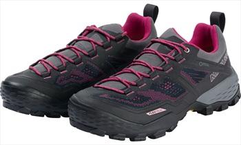 Mammut Ducan Low GTX Women's Approach Shoe, UK 7 Phantom/Dark Pink