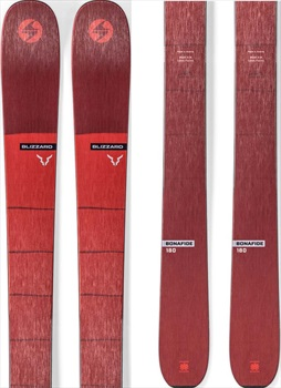 Blizzard Adult Unisex Bonafide Skis, 180cm Red 2020