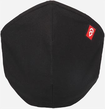 Airhole Ergonomic 5 Pack Protective Reusable Face Mask, Black