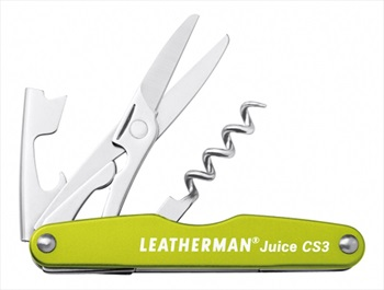 Leatherman Juice CS3 Pocket Multi-Tool, 4-in-1 Moss Green