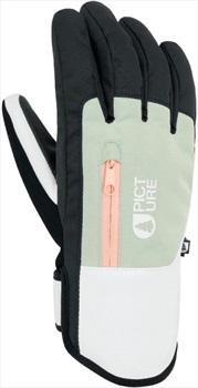 Picture Kakisa Women's Snowboard/Ski Gloves, L Almond Green
