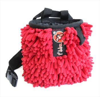 i'bbz Rasta Rock Climbing Chalk Bag, Red