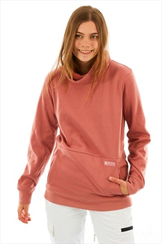 DC Veneer Women's Snowboard/Ski Pullover Fleece, M Dusty Rose
