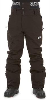 Picture Panel Ski/Snowboard Pants, L Black