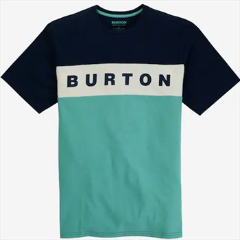 Burton Lowball Short Sleeve T Shirt, M Dress Blue / Buoy Blue