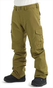 Burton Cargo Tall Fit Snowboard/Ski Pants, L Martini Olive