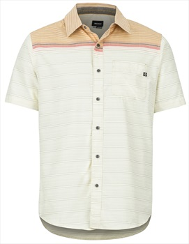 Marmot Syrocco SS Technical Outdoor Shirt, M Aztec Gold