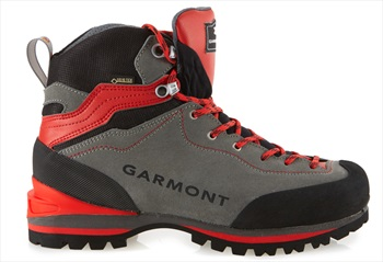 Garmont Ascent GTX Men's Hiking Boots, UK 10.5 Grey/Red