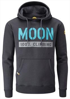 Moon 159 100% Climbing Pullover Hoodie, S Ebony