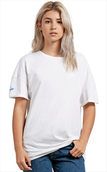 Volcom Basic Stone Splif Women's Short Sleeve T-Shirt, M White