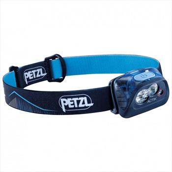Petzl Actik IPX4 Compact Multi-beam Headtorch, 350 Lumens Blue