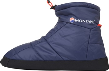 Montane Prism Bootie Insulated Camping Slippers XL Antarctic Blue